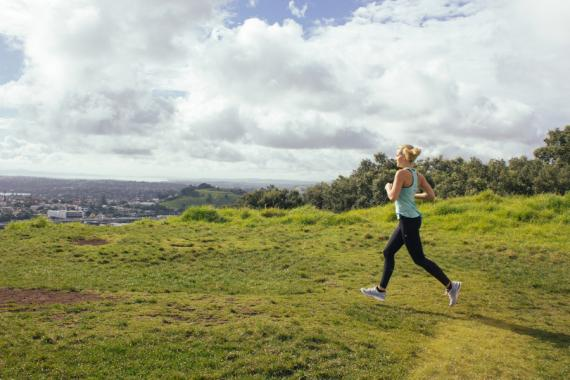 Air New Zealand Queenstown Marathon training with Matilda Rice
